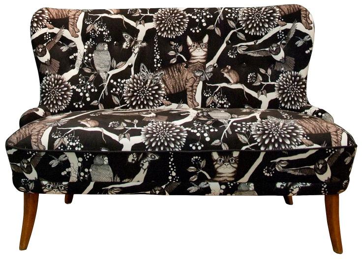 Nadja Wedin Tyg Catzy polyestersammet 1250 kr Nadja Wedin design